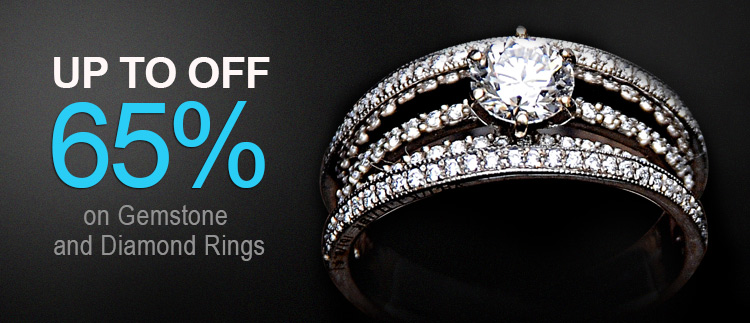 Up to 65% off diamonds